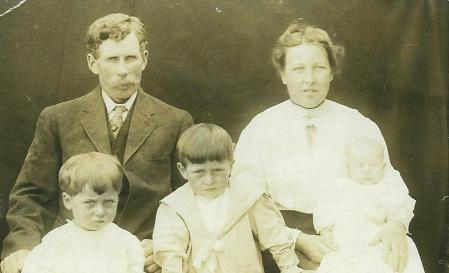 May Bowyer Dave Fred Frank 1913