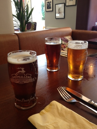 The first pints in England but not the only