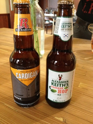 Hm - my favorite two Canadian beers