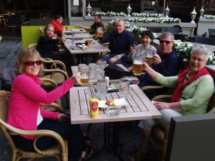 Raising a few pints in Belgium