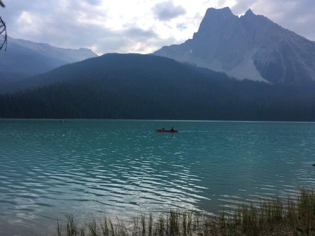 Easy hike around the lake